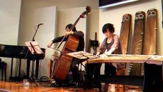 鳥の歌 箏 武田明美さん Bass 中山英二さん 2011.1.1.
