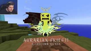 "Modirani Skyblock: ""DISCO OTOK!!!""- AGRARIAN SKIES 2  part 1."