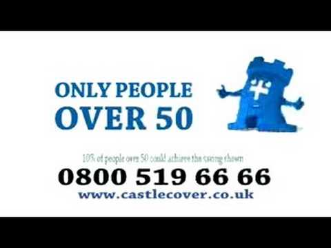 Castle Cover Over 50s Insurance TV Advert