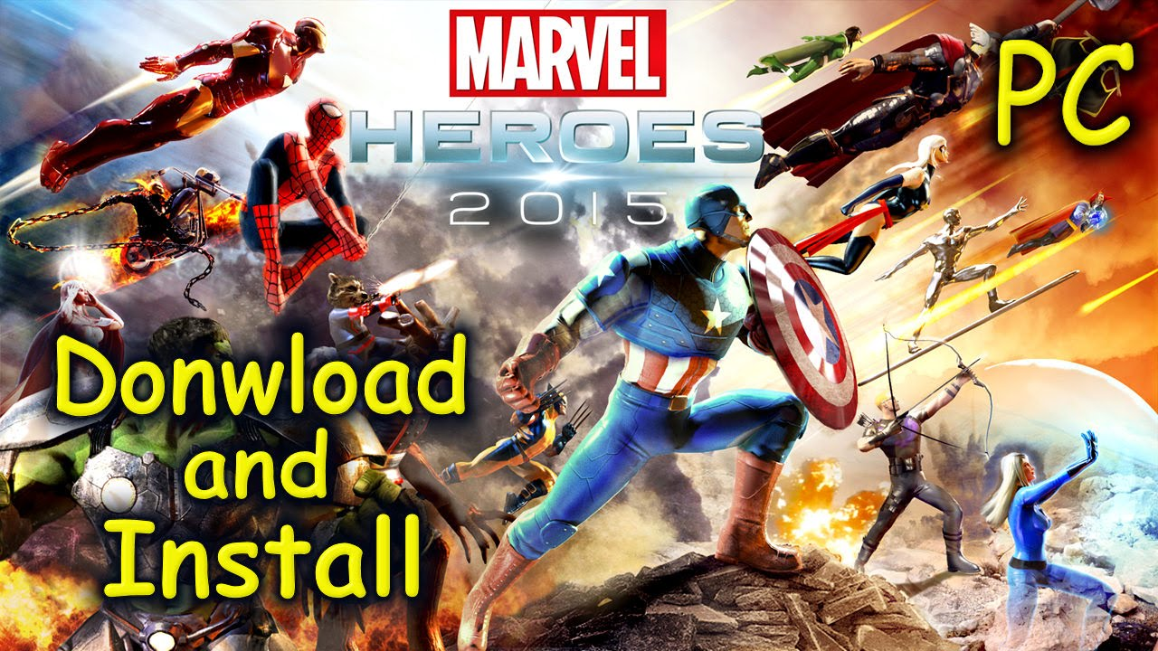 How To Download And Install Marvel Heroes 2015 Free2play Youtube