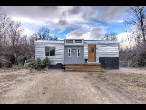 Lewis and Clark 5th Wheel Tiny House in Montana YouTube