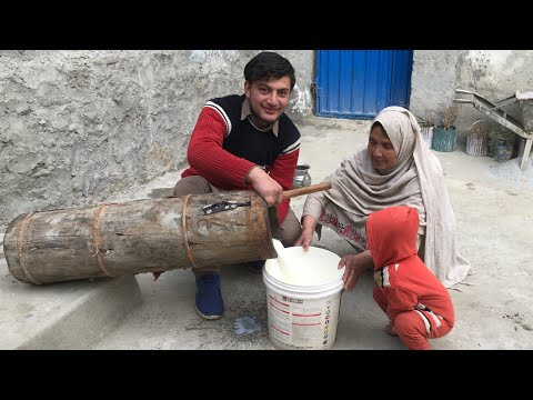Traditional Butter Milk Recipe Of Gilgit Baltistan || Pakist