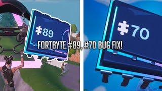 Fortnite Fortbyte #89, Fortbyte #70 Bug Fix! (Switching Regions Method)
