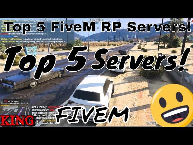 Top 5 FiveM Roleplay Servers (GTA 5) - *NEW*
