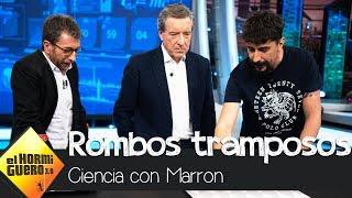 La ilusión óptica de Marron que deja fascinado a Iñaki Gabilondo - El Hormiguero 3.0