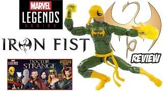 Review Iron Fist - Punho de Ferro Marvel Legends 2016 - brinquedo boneco toys juguetes