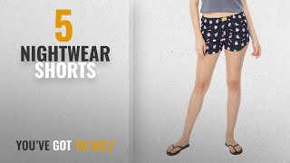 Top 10 Nightwear Shorts [2018]: Bewakoof Women