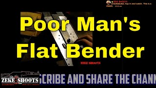 Poor Mans 80% AK47 Flat bender