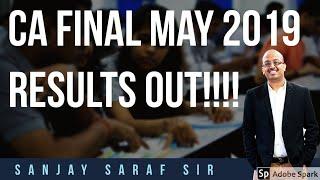 CA Final May 2019 Results Out | Sanjay Saraf Sir | Congratulations
