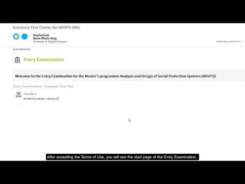 """Video Tutorial: Entry Examination """"Analysis and Design of Social Protection Systems"""" thumbnail"""