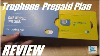 REVIEW: Truphone Prepaid Plan (Pay As You Go): New Lycamobile?!
