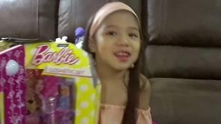 Barbie Cosmetic Set Unboxing/Tutorial