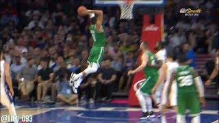 Jayson Tatum Highlights vs Philadelphia 76ers (9 pts, 5 reb)