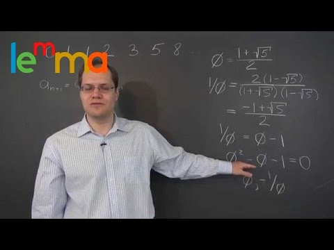 Linear Algebra 18e: The Eigenvalue Decomposition and Fibonacci Numbers