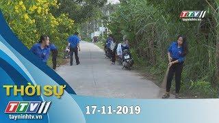 Thời Sự Tây Ninh 17-11-2019   Tin tức hôm nay   Tây Ninh TV