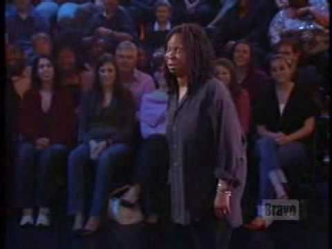 whoopi on bravo - 1st parrot joke