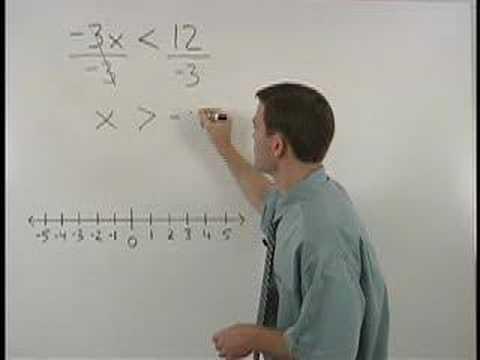 Solving Inequalities - MathHelp.com - Algebra Help