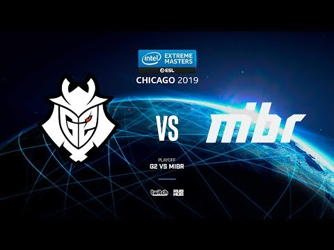 G2 Vs MIBR - IEM Chicago 2019 - Map2 - De_dust2 [pch3lkin & Craggy]