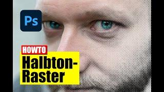 Photoshop: Halbtonraster erstellen - Tutorial - deutsch/german