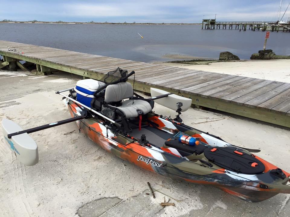 Feelfree lure 10 kayak review top to bottom youtube for Feelfree lure 11 5 with trolling motor