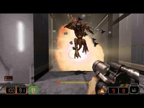 Duke Nukem 3D: Kick Ass Edition Mod - Area 51