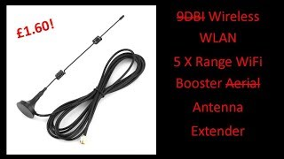 A Nice 2 4 GHz Wifi Collinear Antenna Let Down By Poor Coax