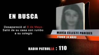 ADOLESCENTE DESAPARECIDA DESDE EL 09 DE MAYO
