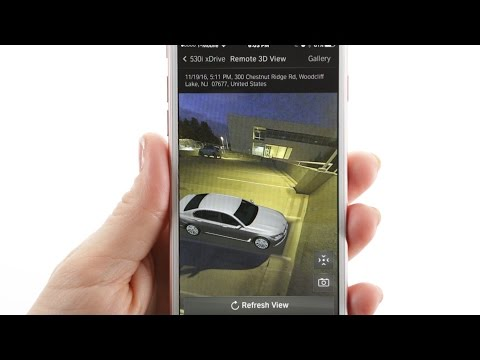 BMW Connected App: How To Use Remote 3D View