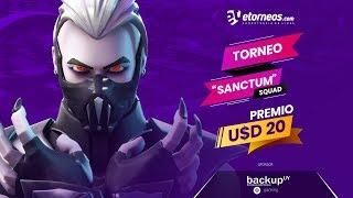 "!! FREE TORNEO FORTNITE ""SANCTUM"""