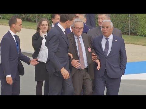 Ein wackeliger Juncker