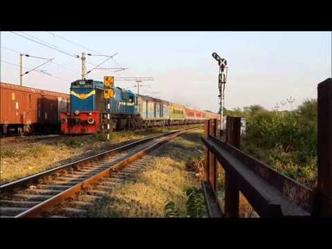 POWER PACK COMPILATION OF DIESELS IN WESTERN RAILWAY TERRITORY!!