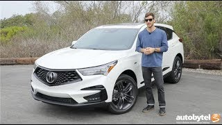 2019 Acura RDX A-Spec SH-AWD Test Drive Video Review