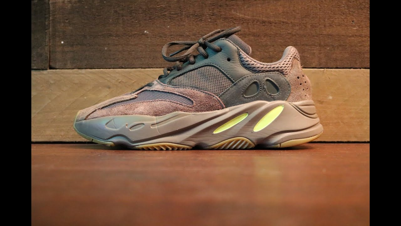 825bac216 Yeezy 700 mauve review ( below retail ) - YouTube