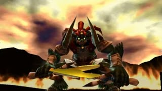The Legend of Zelda: Ocarina of Time 3D - All Bosses