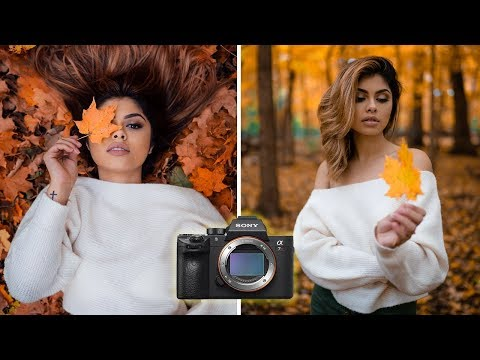 Fall Photoshoot using the Sony A7RIII | Behind the scenes