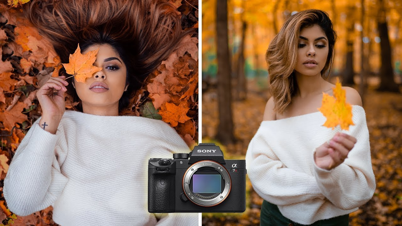 Fall Photoshoot using the Sony A7RIII   Behind the scenes