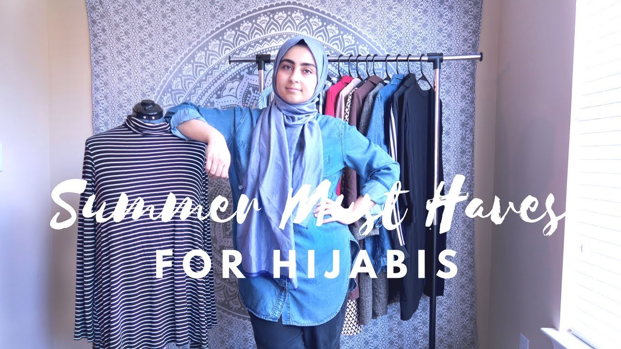 d1df05b76c01 SUMMER HIJAB OUTFIT MUST-HAVES & ESSENTIALS // MODEST FASHION - YouTube