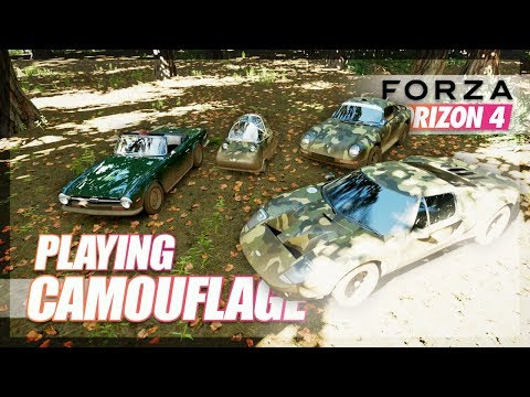 Forza Horizon 4 - Camouflage Mini Game! w/The Crew thumbnail