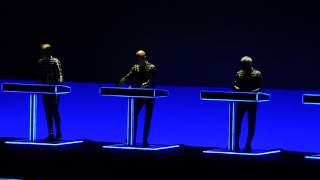 Kraftwerk   Tour de France, Etape 1 and 2 Live @ The Masonic Temple, Detroit 10 05 2015
