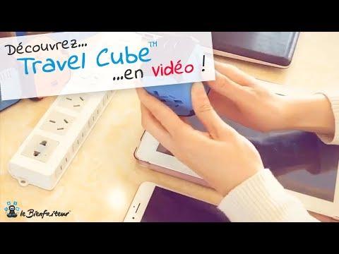 Travel Cube™ : Adaptateur Universel Pour Prises électriques Compatible Dans Plus De 150 Pays