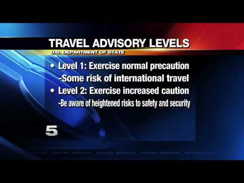 State Dept. Issues New Travel Advisory Threat Levels