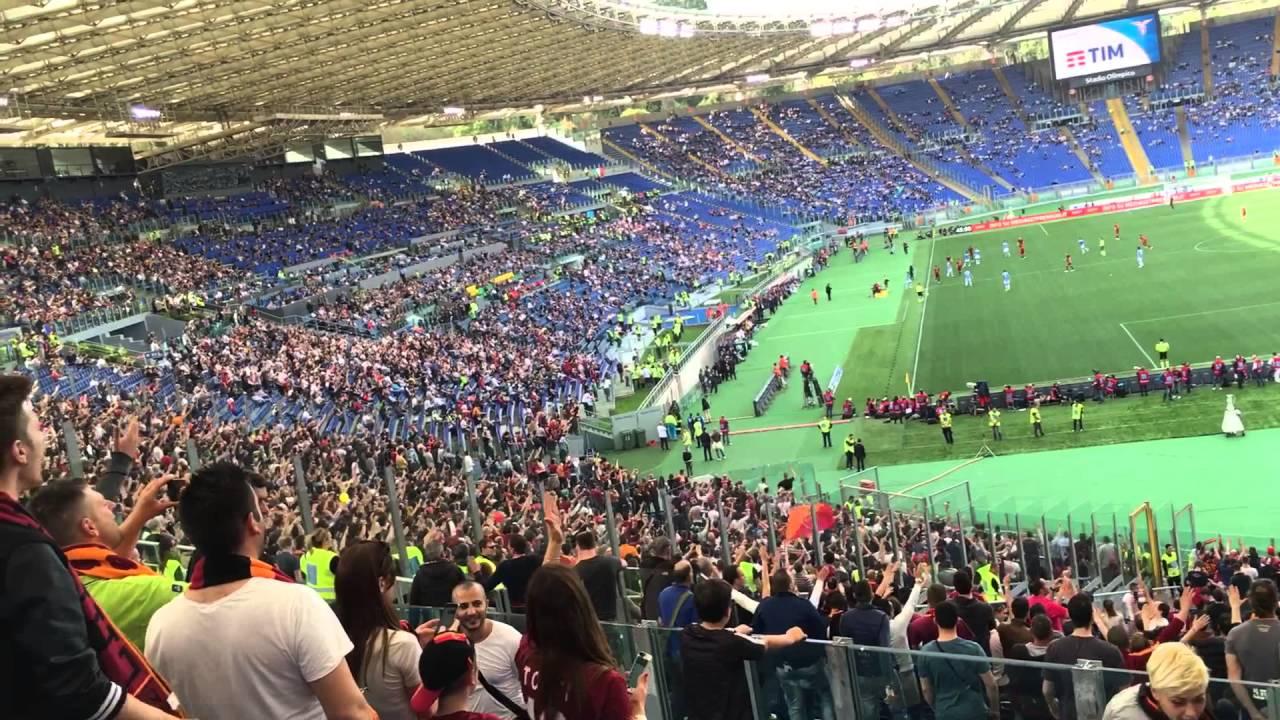 Lazio 1 Roma 4 - YouTube