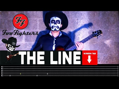 Foo Fighters  The Line Guitar   Masuka WTab