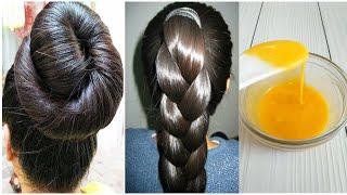 Волосы растут в два раза быстрее Маска для роста волос всего два ингредиента