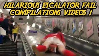 Escalator Fail Compilations Videos 1   FAD