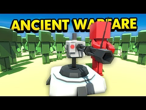 FUTURE TURRET vs INFINITE ZOMBIES IN ANCIENT WARFARE (Ancient Warfare 3 Funny Gameplay)