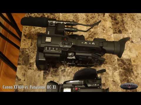 Canon XF400 Vs.  Panasonic HC-X1