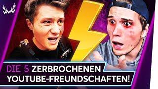 5 ZERBROCHENE YouTube-Freundschaften! | TOP 5
