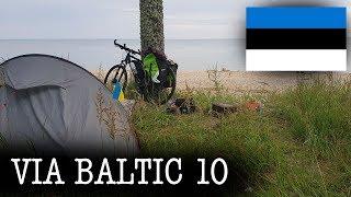 На велосипеде вокруг Балтики 2019. Фильм десятый. Эстония. Хаапсалу, Пярну.