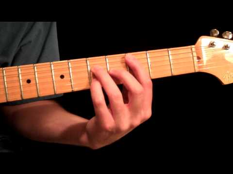 Guitar Lesson - Easy Chord Extensions - Jazz - Blues - Rock - Country - Fender Strat Gibson